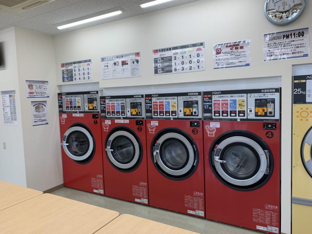ランドリーハウスJ&M洗濯乾燥機