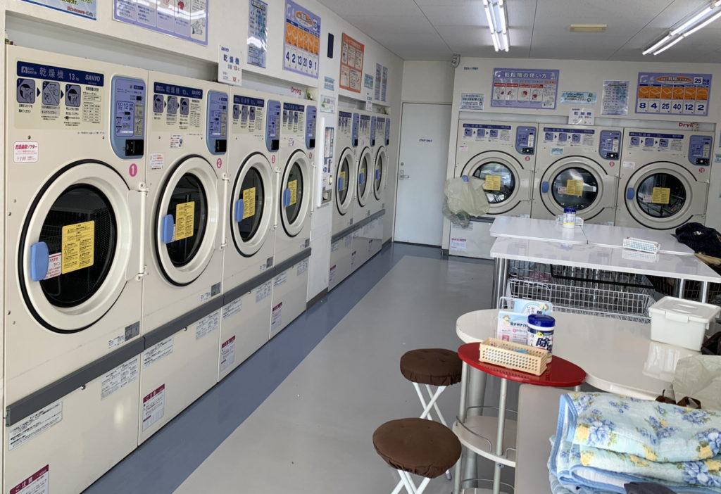 Myコインランドリー洗べえ乾燥機