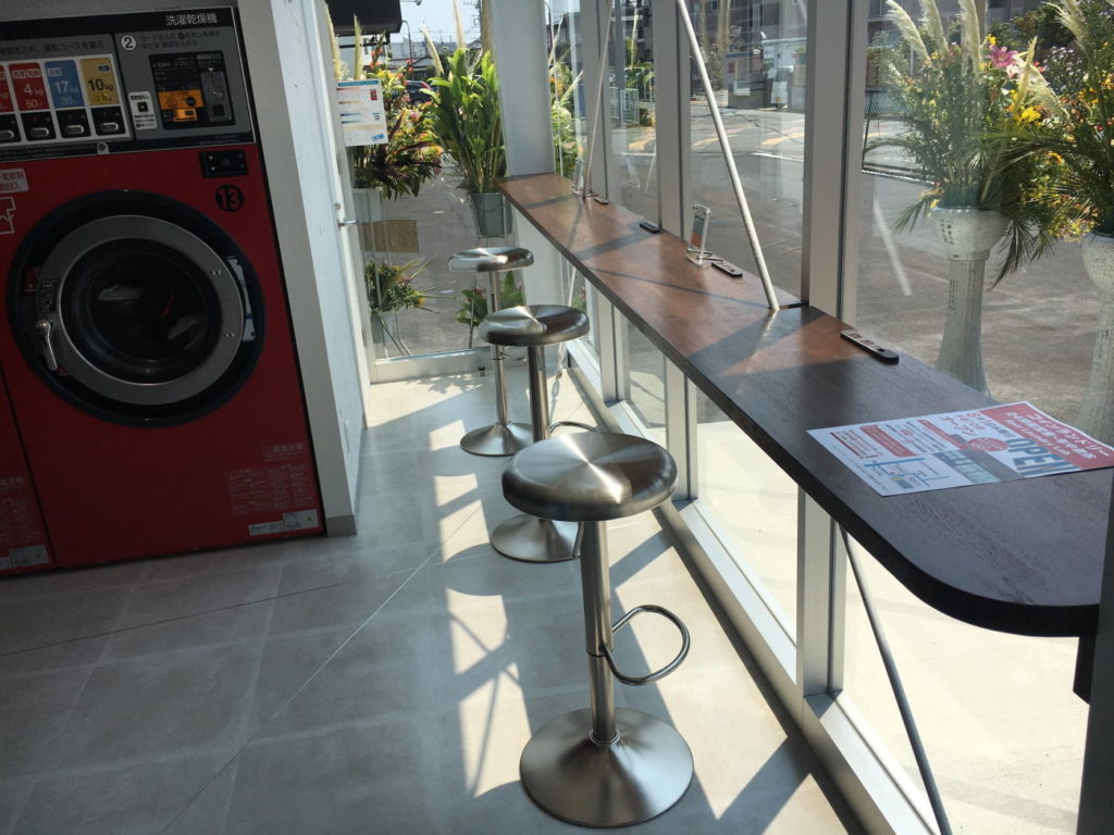 Spin Laundry Lab 店内