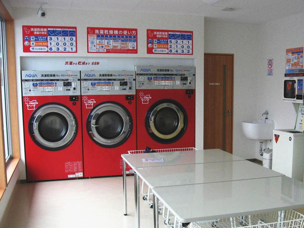 コインランドリーD&D洗濯乾燥機