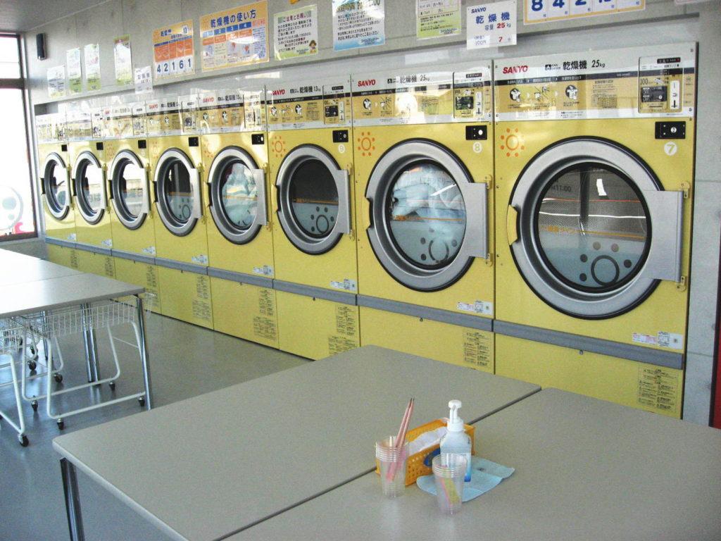 コインランドリーふわふわ  岡重   城北店 乾燥機