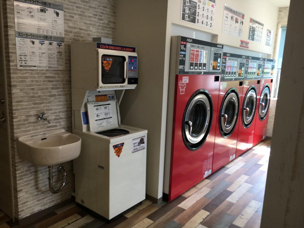 コインランドリー★ポラリス 洗濯コーナー