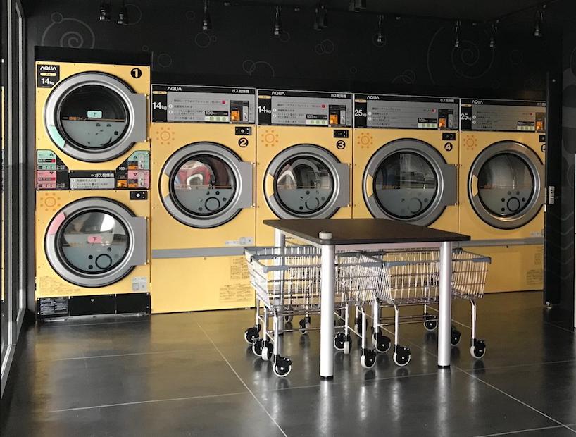 Spin Laundry Room    三島店 乾燥コーナー