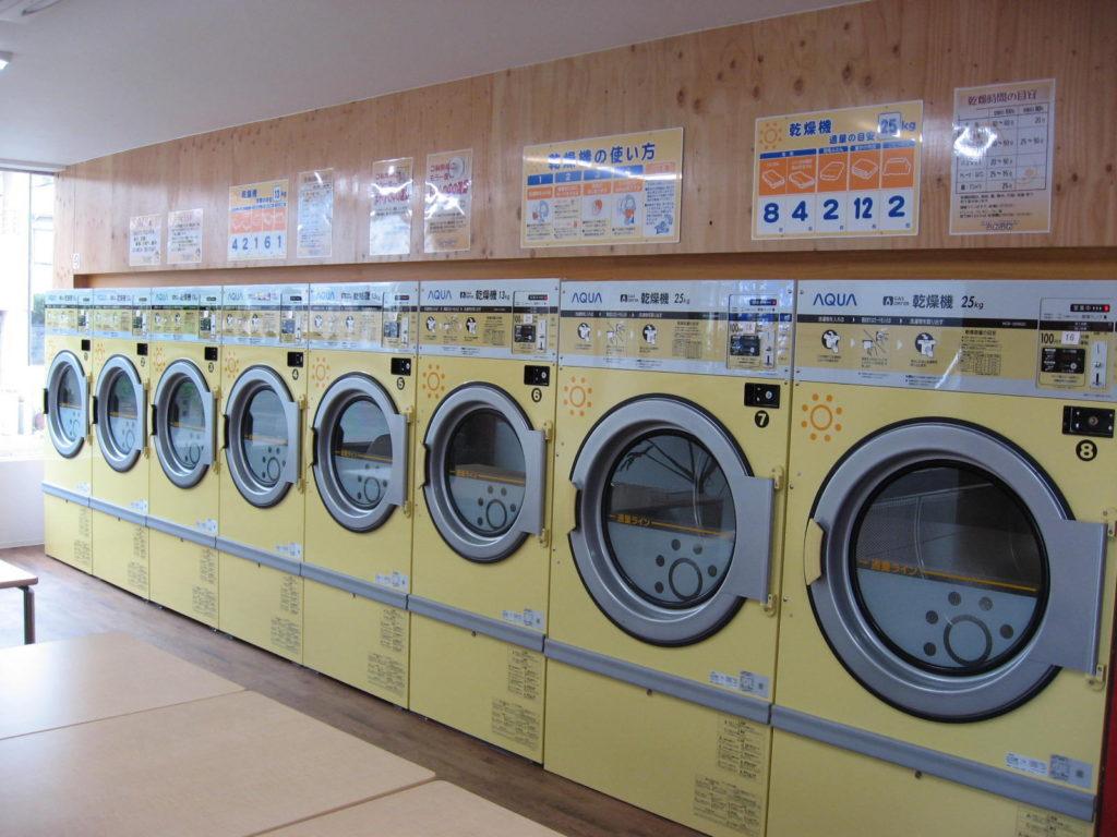 コインランドリー  ふわふわ 錦プラザ店 乾燥機