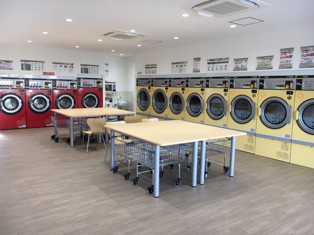 Laundry Fundry店内