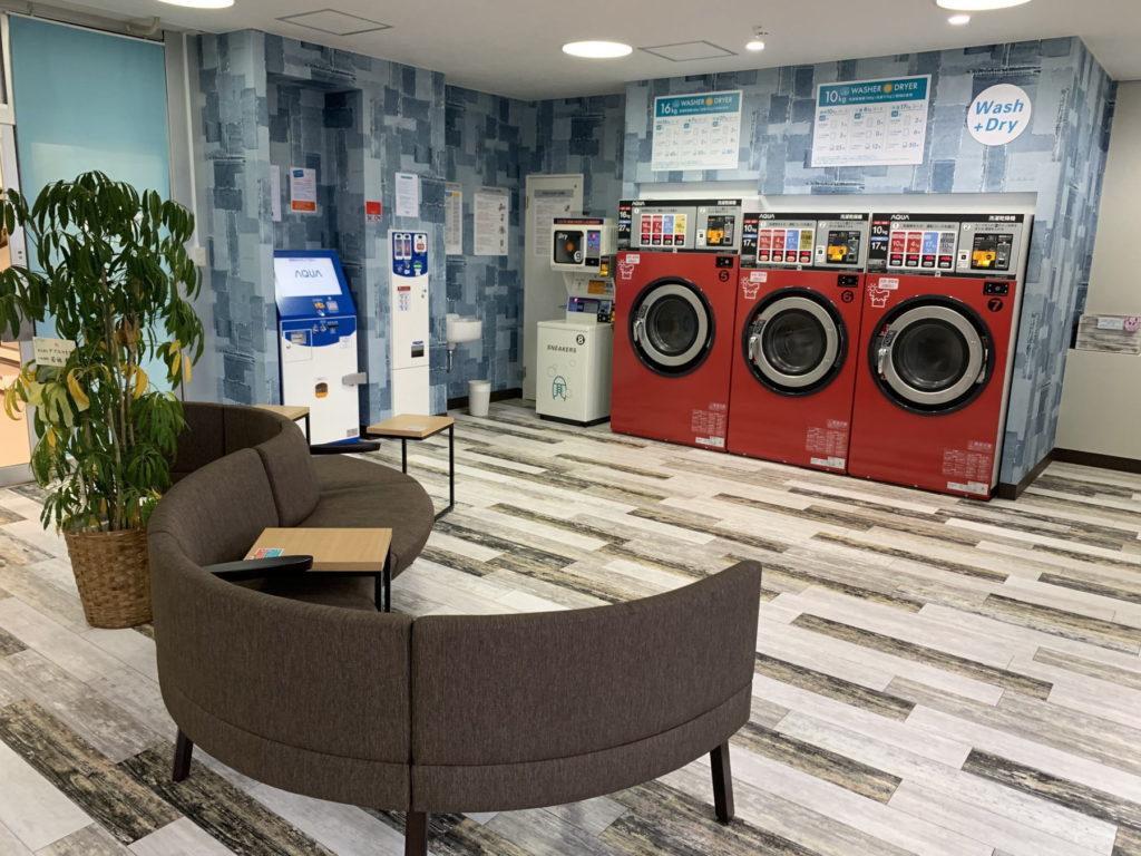 Spin Laundry Room   松田町店 店内