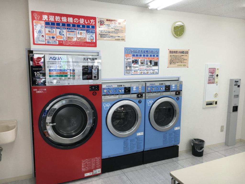 コインランドリーBarreto(バレット) 洗濯コーナー