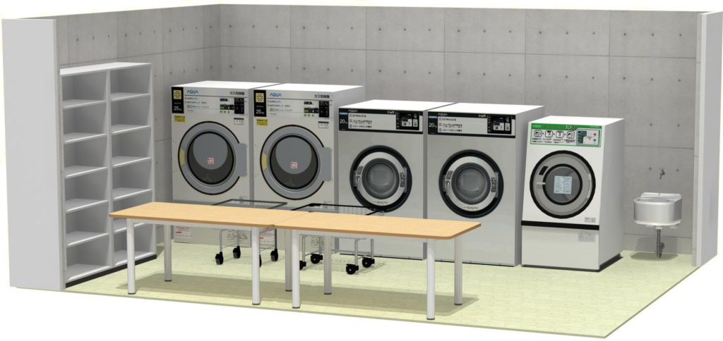 業務用洗濯設備