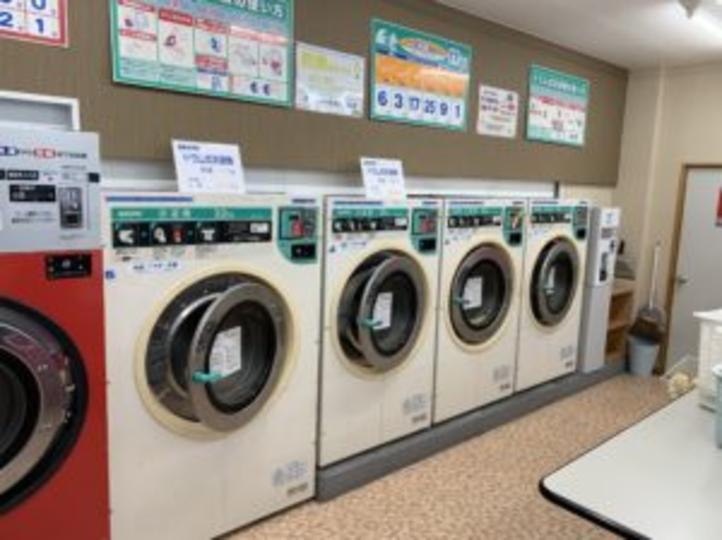 スーパーコインランドリー   洗濯村 中里店  洗濯機