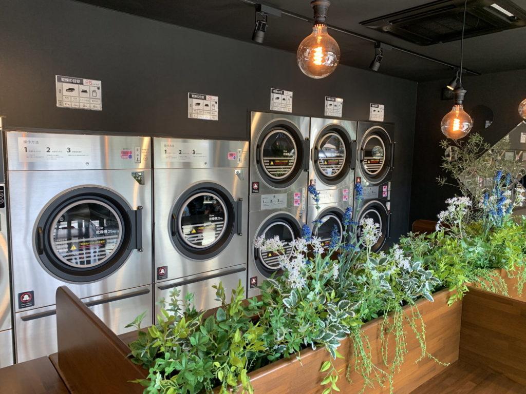 富士吉田市コインランドリー乾燥機