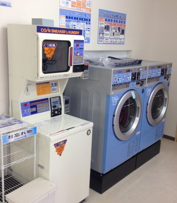 コインランドリーせいしん 洗濯コーナー