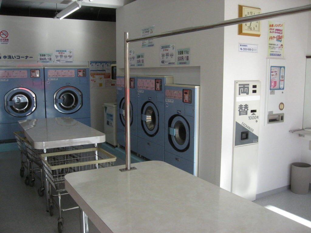 コインランドリー茶畑 洗濯機